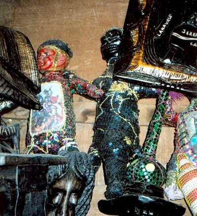 Le Bureau National d'Ethnologie clôture les séries d'expositions basées sur les guédés et les bizangos