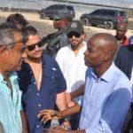 Jovenel Moise visite l'ANAPAAAH et promet de supporter le secteur agricole